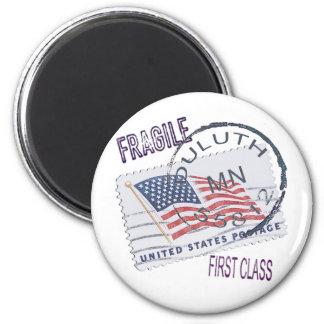 Postmark Duluth 55812 6 Cm Round Magnet