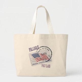 Postmark Duluth 55812 Jumbo Tote Bag