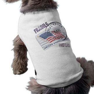 Postmark Duluth 55812 Sleeveless Dog Shirt