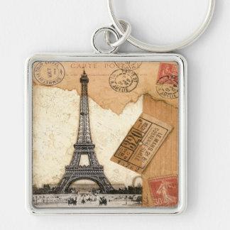 Postmark, Paris Key Ring