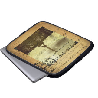 Postmarked Paris Laptop Sleeve
