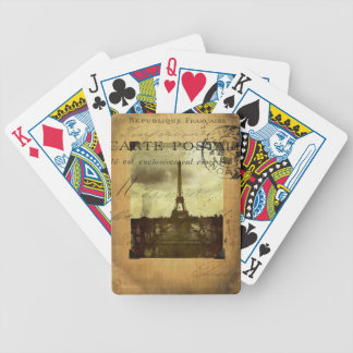 Postmarked Paris Playing Cards