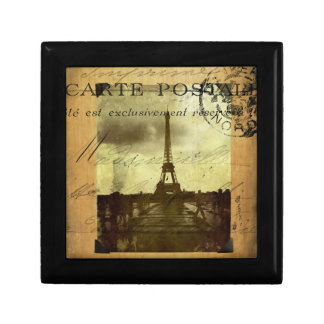 Postmarked Paris Small Square Gift Box