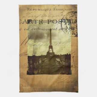 Postmarked Paris Tea Towel