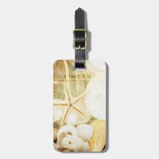 Postmarked Starfish Luggage Tag