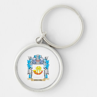 Postol Coat of Arms - Family Crest Keychain