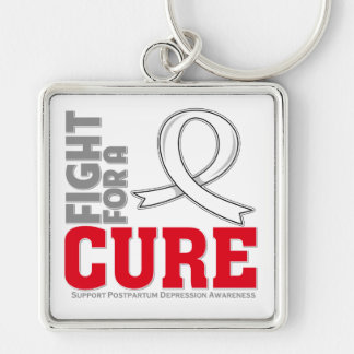 Postpartum Depression Fight For A Cure Key Chain