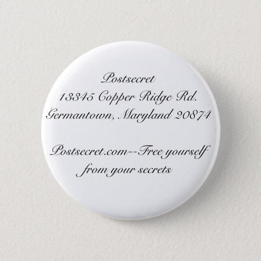 Postsecret 6 Cm Round Badge