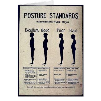 Posture Standards Cards