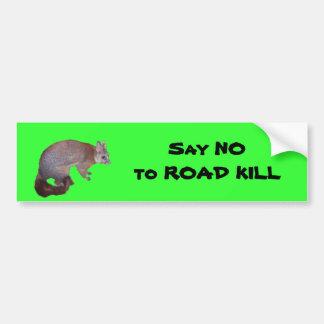 Posum Bumper Stickers