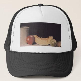 Pot and Fruit Art Cap