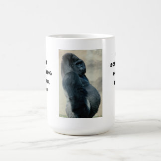 Pot Belly Gorilla Mug