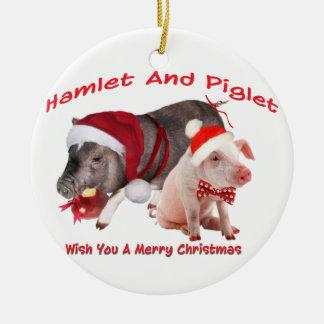Pot Belly Pig  Ornament