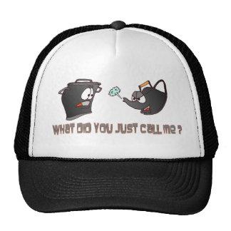 Pot calling the Kettle Black Hat