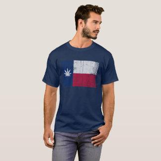 Pot Head Texas Flag T-Shirt