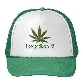 pot-leaf, Legalize It! Cap