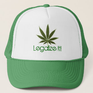 pot-leaf, Legalize It! Trucker Hat