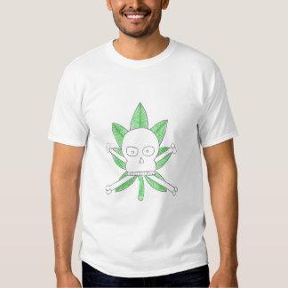 Pot Leaf Skull TShirt