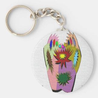 Pot Luck - Poker Hand Keychain