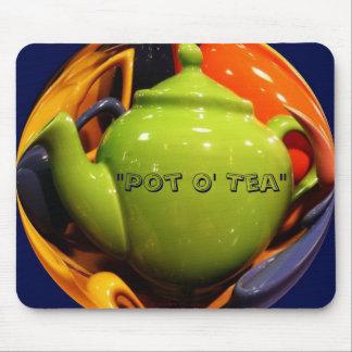 Pot O Tea mousepad by Zoltan Buday
