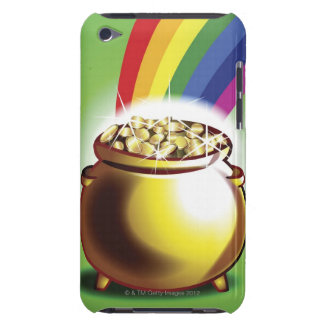 Pot of gold and rainbow iPod touch covers