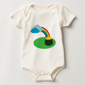 Pot of Gold Baby Clothes Rompers
