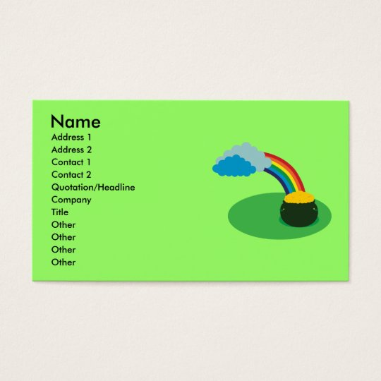 Pot of Gold Business Cards