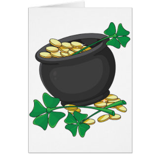 Pot of Gold Greeting Cards