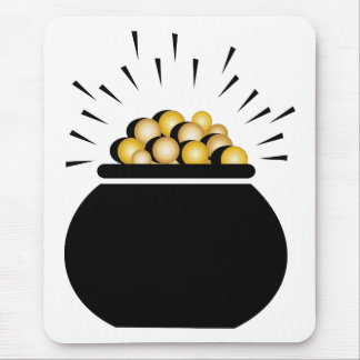 Pot of Gold Mouse Pads