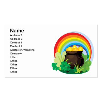 Pot Of Gold Pack Of Standard Business Cards