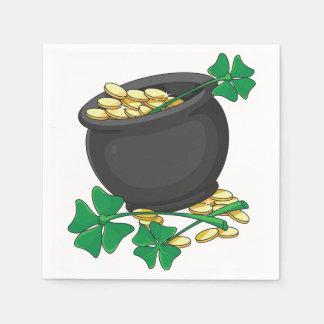 Pot of Gold Paper Napkins