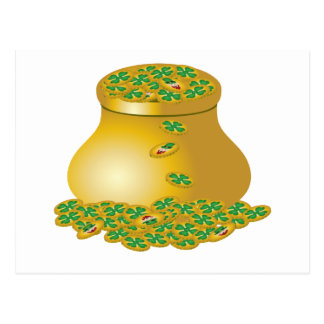 Pot Of Gold Postcards