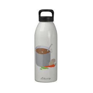 Pot Of Soup Reusable Water Bottles