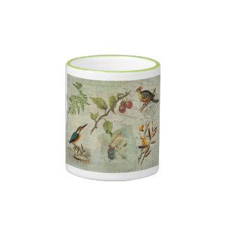 Pot-Pourri Ringer Mug