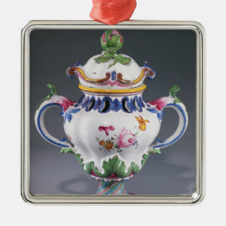 Pot-pourri Vase, made in Strasbourg, c.1754-60 Christmas Ornament