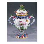 Pot-pourri Vase, made in Strasbourg, c.1754-60 Postcard