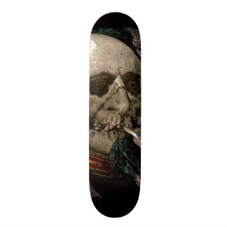 Pot Smoking Zombie Skull Skeleton Dude Wall Board Skateboards