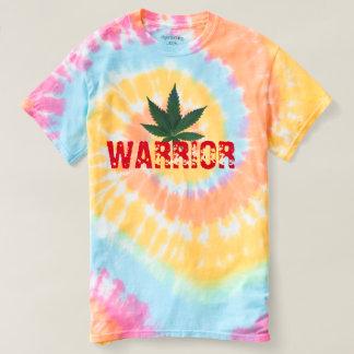 pot warrior funny t-shirt design