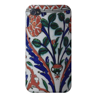 Pot with a floral decoration, Iznik Covers For iPhone 4