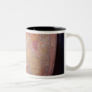 Pot with a scene of women bathing Two-Tone coffee mug