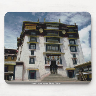 Potala inner court, Tibet, China Mouse Pad