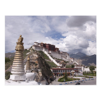 Potala palace in Tibet Postcard