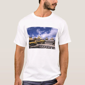 Potala Palace inside with steeples at the home T-Shirt