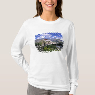Potala Palace on mountain range from aher T-Shirt