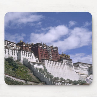Potala Palace on mountain the home of the Dalai Mouse Pad