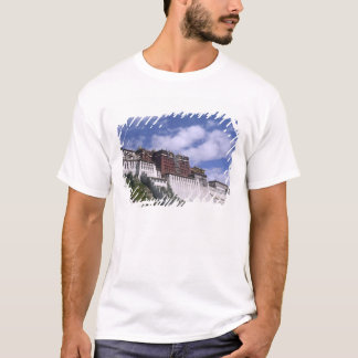 Potala Palace on mountain the home of the Dalai T-Shirt