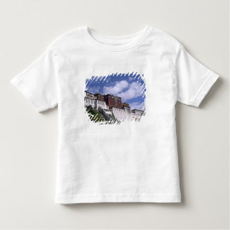 Potala Palace on mountain the home of the Dalai Toddler T-Shirt