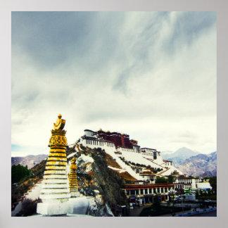 Potala Palace, Tibet Poster