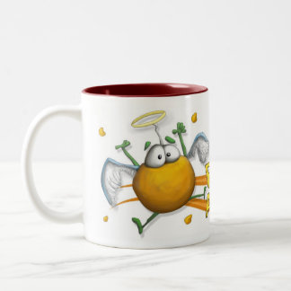 Potato Angels Two-Tone Coffee Mug
