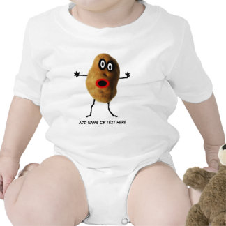 Potato Cartoon Tshirt
